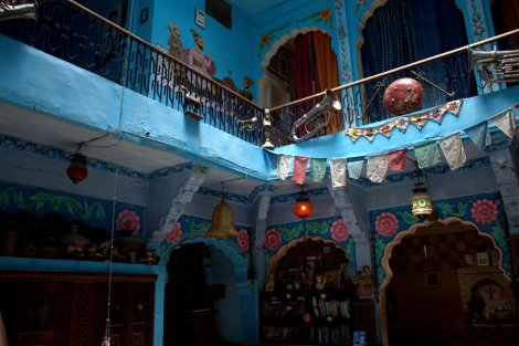 Inside Yogis Guest house Jodhpur