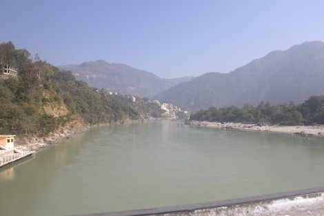 Overlooking the Ganges...