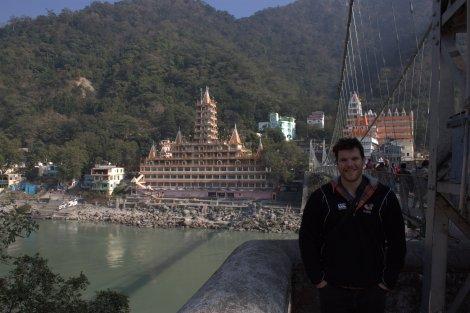By Laxman Jhula Bridge