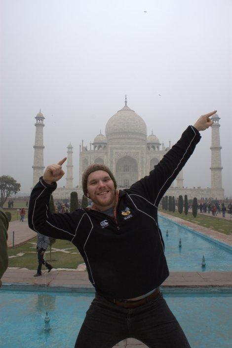 Zyzzin' at the Taj.