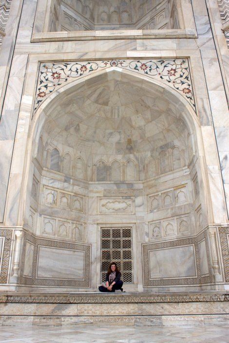 Sittin' at the Taj.