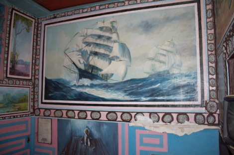 A sample of some of the pretty incredible art adorning the walls...