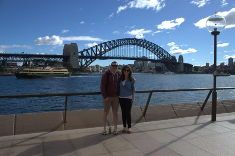 Obligatory Harbour Bridge pic.