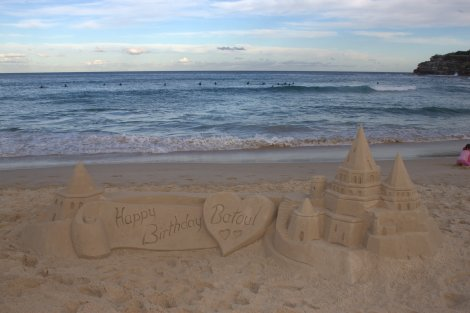 And the award for best sandcastle goes to...