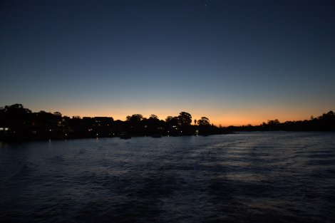 Parramatta River.